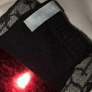 f1f47ced59c Calvin Klein Accessories - MONOGRAM LOGO SCARF + GLOVE SET